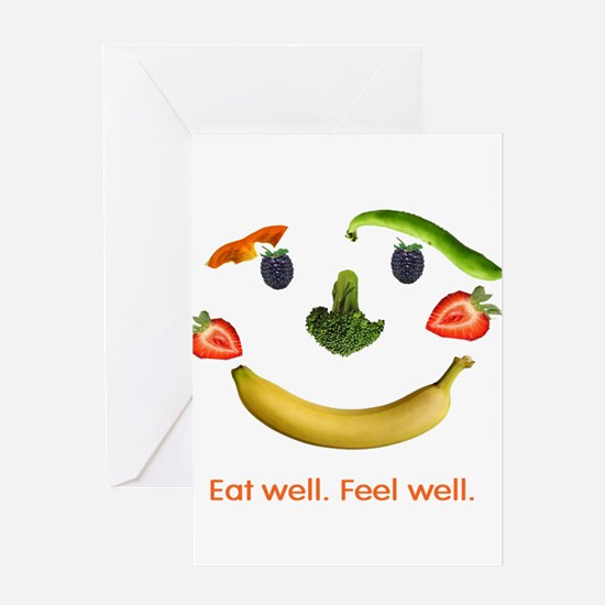 Healthy Diet Greeting Card