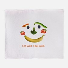 Healthy Diet Throw Blanket