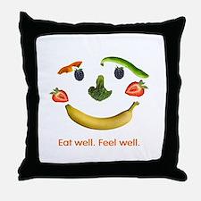 Healthy Diet Throw Pillow