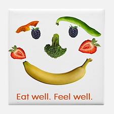 Healthy Diet Tile Coaster