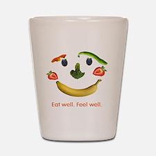 Healthy Diet Shot Glass