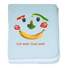 Healthy Diet baby blanket