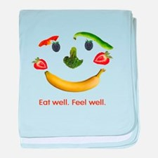 Healthy Diet baby blanket