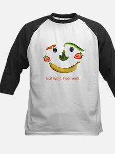 Healthy Diet Kids Baseball Jersey