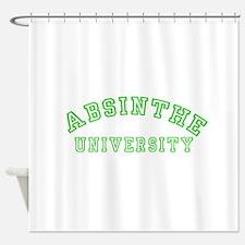 Absinthe University Shower Curtain