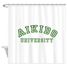 Aikido University Shower Curtain