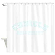 Cubicle University Shower Curtain