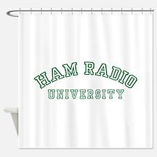 Ham Radio University Shower Curtain