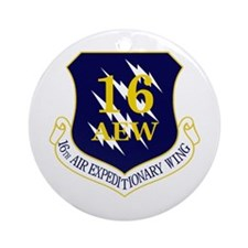 16th AEW Ornament (Round)
