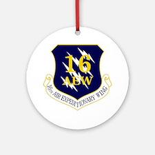 16th AEW Ornament (Round)