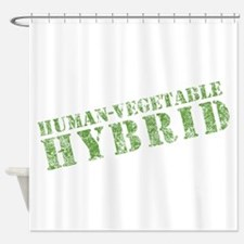 Human Vegetable Hybrid Shower Curtain