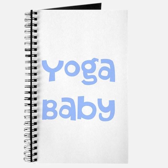 Yoga Baby Blue Journal