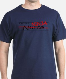 Job Ninja Nurse T-Shirt