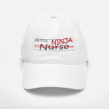 Job Ninja Nurse Baseball Baseball Cap