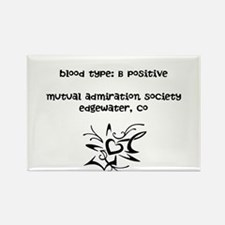 Blood Type: B Positive Rectangle Magnet (10 pack)