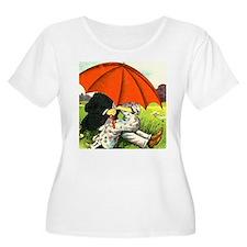 Under that umbrella Plus Size T-Shirt