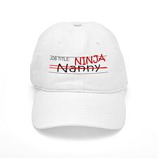 Job Ninja Nanny Baseball Cap