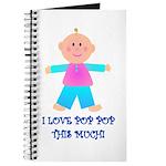 I LOVE POP POP GIRL Journal