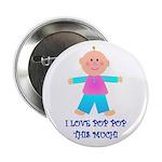 I LOVE POP POP GIRL Button