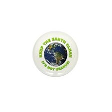 Keep the Earth Clean Mini Button (10 pack)