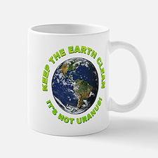 Keep the Earth Clean Mug