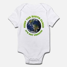 Keep the Earth Clean Infant Bodysuit