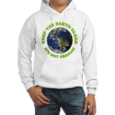 Keep the Earth Clean (Front) Hoodie
