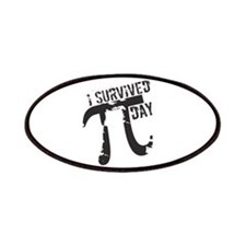 Funny I Survived Pi Day Patches