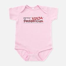 Job Ninja Pediatrician Infant Bodysuit