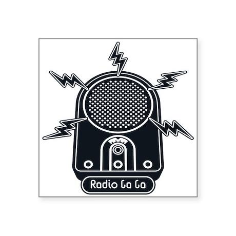 Radio Ga Ga Sticker