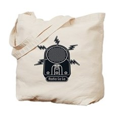 Radio Ga Ga Tote Bag