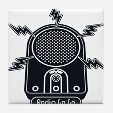 Radio Ga Ga Tile Coaster