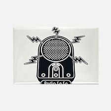Radio Ga Ga Rectangle Magnet