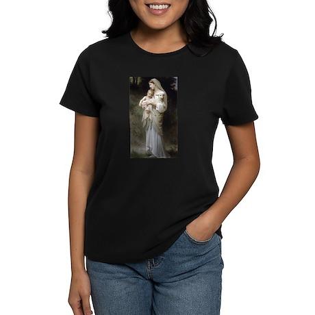 L'Innocence Women's Black T-Shirt