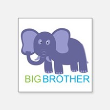 "Big Brother Elephant Square Sticker 3"" x 3"""