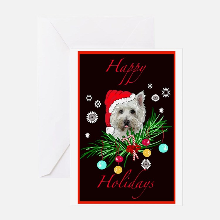 Westy Christmas Card Greeting Card