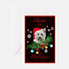 Westy Christmas Card Greeting Cards (Pk of 10)