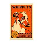 WHIPPETs WMD Atomic Dog Mini Poster Print