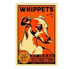 WHIPPETS WMD Postcards (Pack of 8)