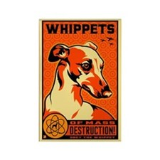 WHIPPETS WMDs Atomic Dog Magnet