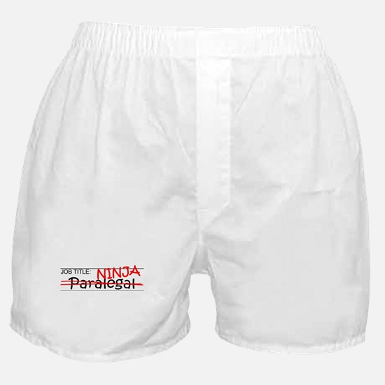 Job Ninja Paralegal Boxer Shorts
