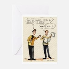 """Mikel Rouse """"Alphabet"""" Greeting Cards (Package of"""