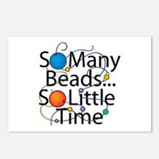 So Many Beads.... Postcards (Package of 8)