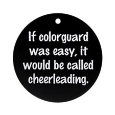 Cool Winterguard Ornament (Round)
