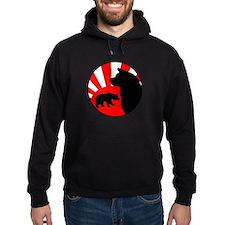 Bear Sun logo (light) Hoodie