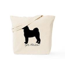 Got Akita? Tote Bag