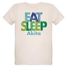 Eat Sleep Akita JPG T-Shirt