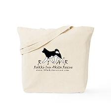 Rakki-Inu logo 3 thicker nb Tote Bag