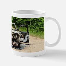 Burnt Car Mug