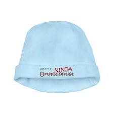 Job Ninja Orthodontist baby hat
